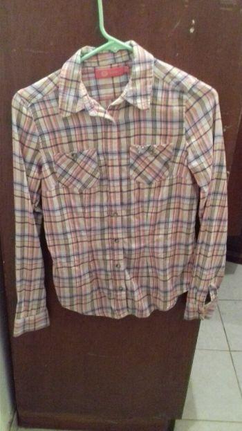 Camisa de cuadritos