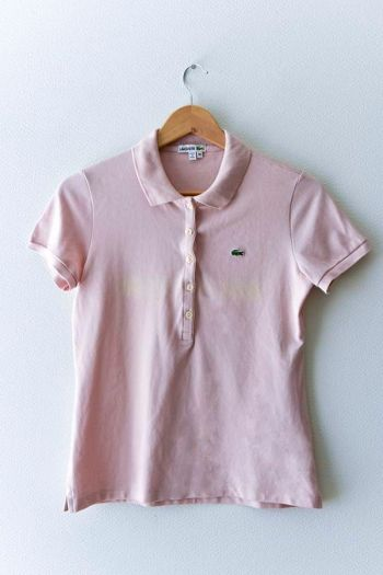 Polo Lacoste color rosa palo