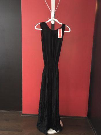 Vestido fiesta negro largo