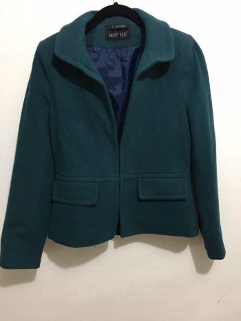 Abrigo azul verdoso
