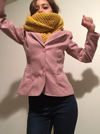 Abrigo corto rosita