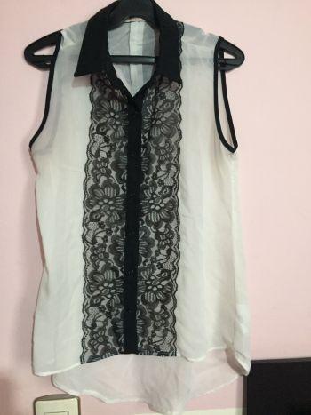 Blusa blanco&negro