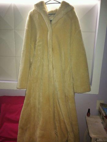 abrigo de peluche