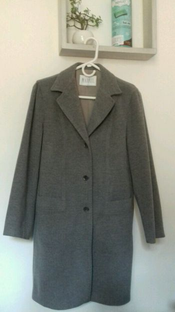 Abrigo de lana corte clasico