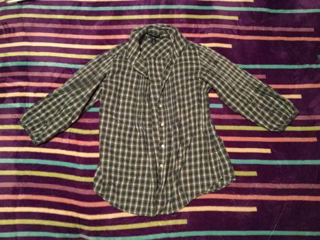 Camisa de cuadritos gap