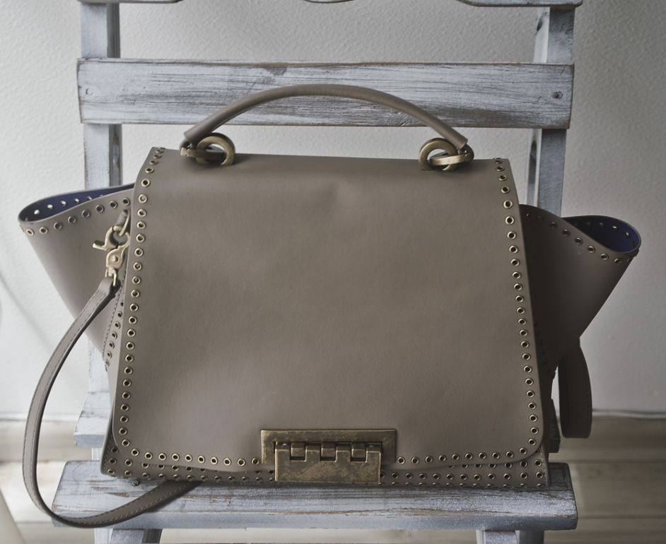 Bolso tipo satchel