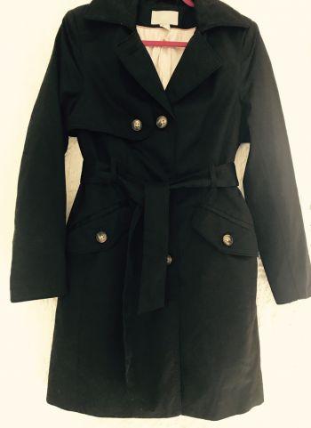 Abrigo/gabardina/trench/black coat