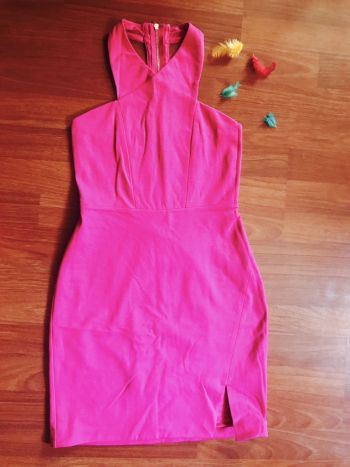 Vestido express rosa