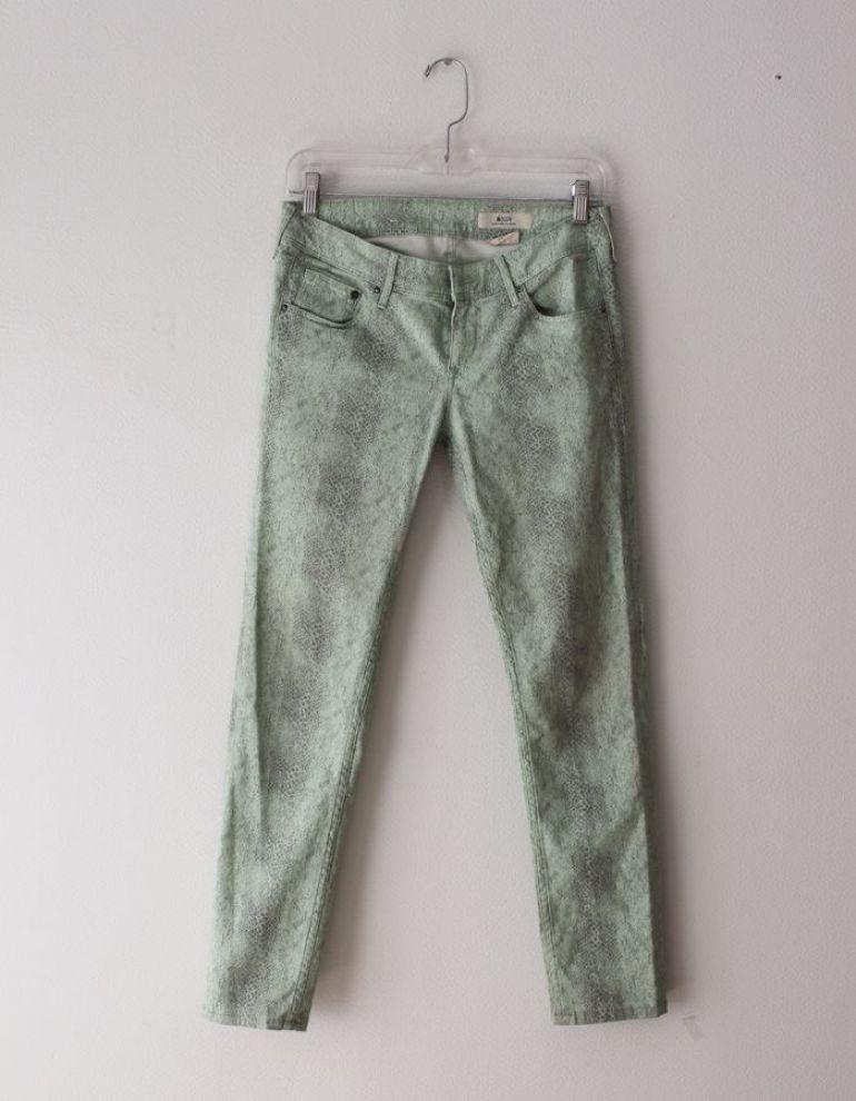 jeans verdes cocodrilo
