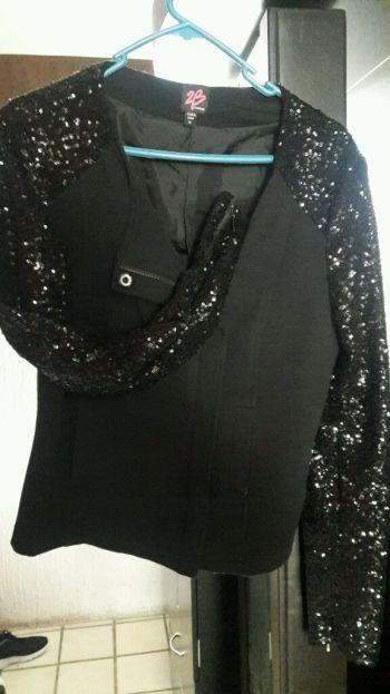 abrigo negro bb