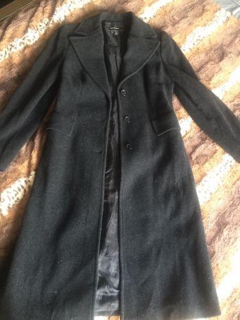 Abrigo gris oxford largo