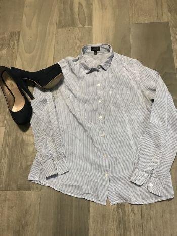 Camisa formal de rayas