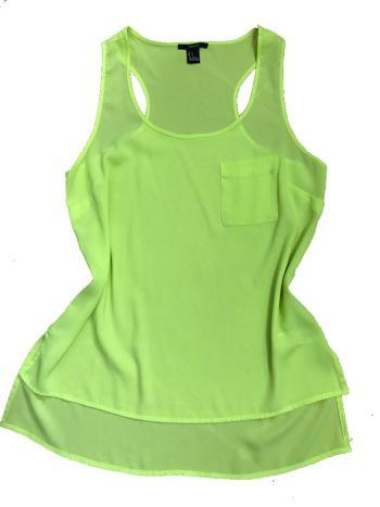 3 x 1 Blusa verde limon t/s