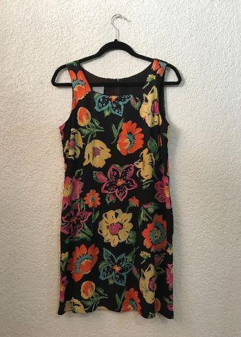 Vestido vintage floreado
