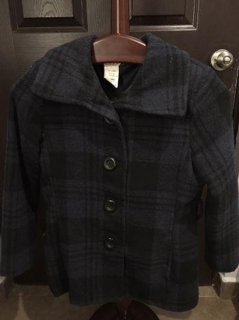 Abrigo vintage azul