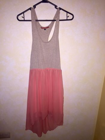 Vestido falda asimétrica