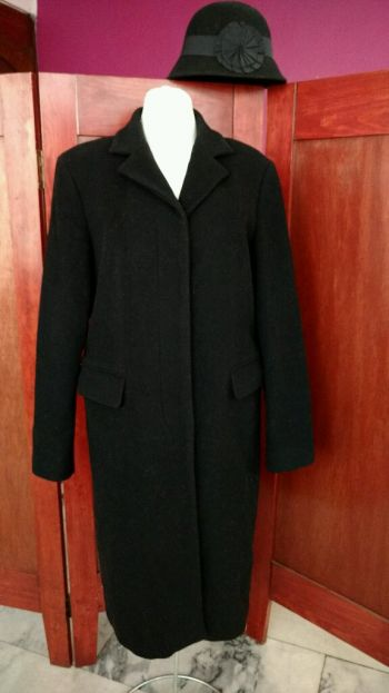 abrigo largo invernal