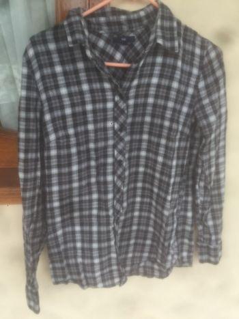 camisa de cuadros Gap S