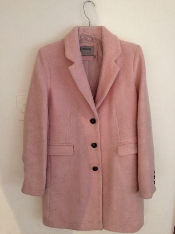Abrigo rosa calientito