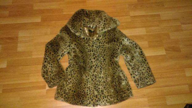 abrigo animal print