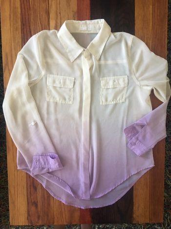 Camisa de gasa colores degradados