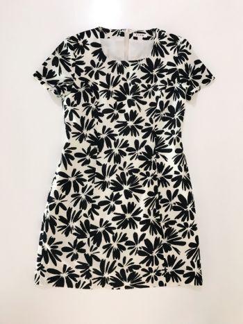 Vestido Floral Beige