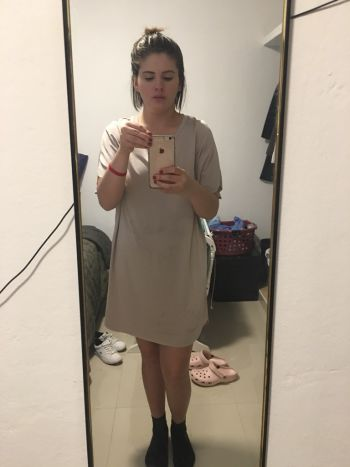 Vestido flojo zara