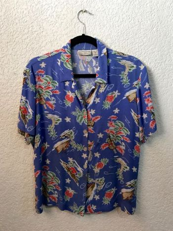 Blusa vintage hawaiiana