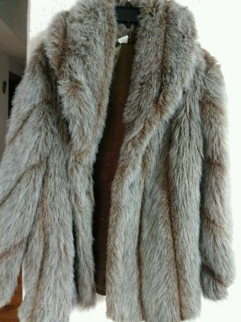 abrigo de peluche abrigador