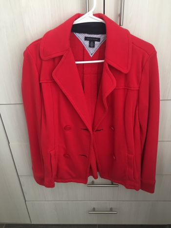 Abrigo tommy rojo