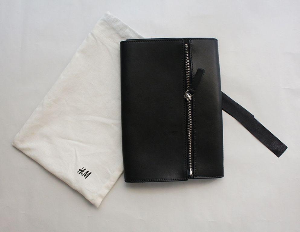clutch negro H&M