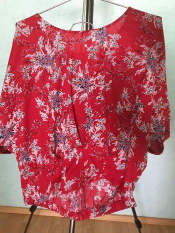 #001 Blusa rojo