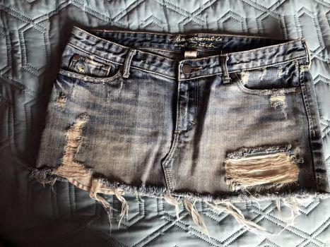 Abercrombie falda de mezclilla
