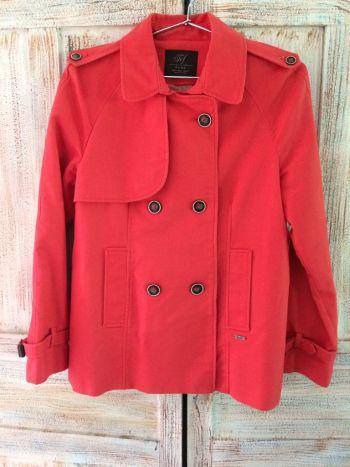 Abrigo color coral!!