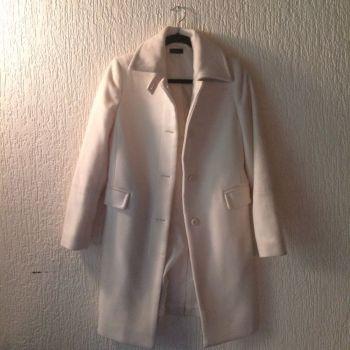 Abrigo de lana y cashmere