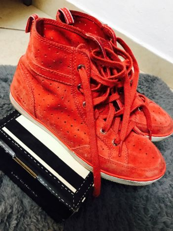 Tenis rojos COACH
