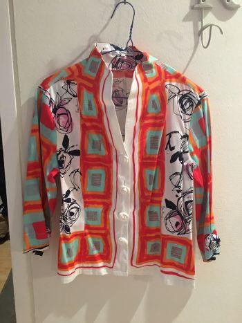 Camisa de algodon italiana