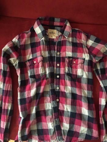 Camisa cuadrada Hollister