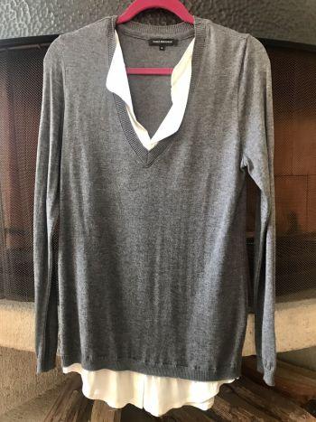 2 en 1 blusa formal Carlo Demichelis