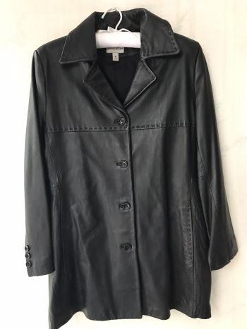 Abrigo/saco de piel ultra suave