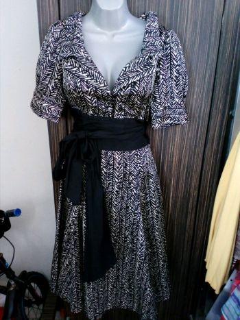 Vestido falda amplia