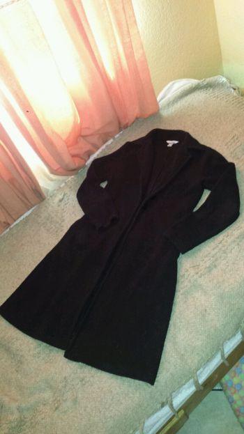 Abrigo largo superior ligero