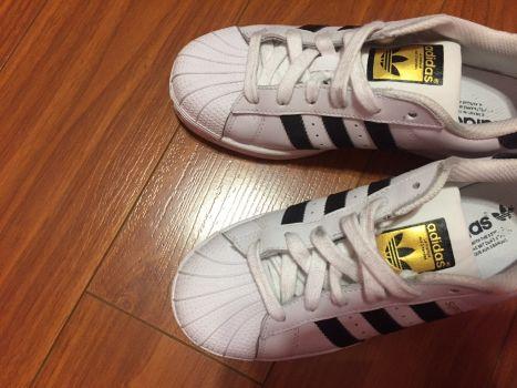 Adidas superstar. Numero 22.5