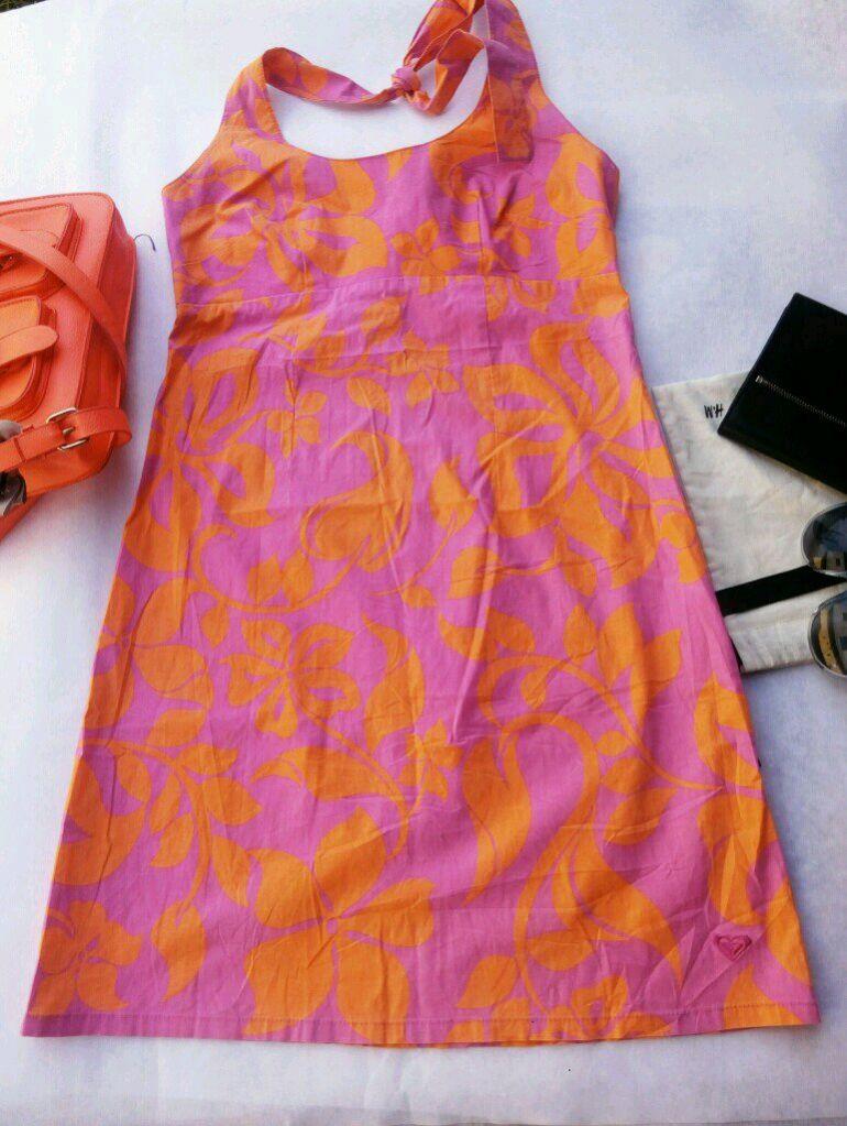 vestido estilo tropical